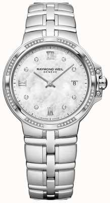Raymond Weil Parsifal ladies quartz classique | 56 diamant | nacre 5180-STS-00995