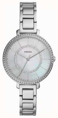 Fossil Femme jocelyn | montre en acier inoxydable argentée ES4451