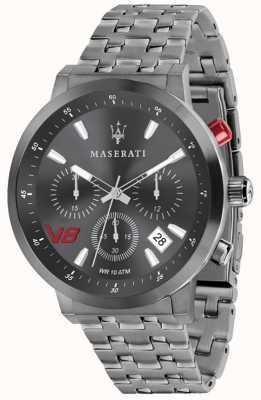 Maserati Hommes gt 44mm | cadran gris | bracelet en acier inoxydable gris R8873134001