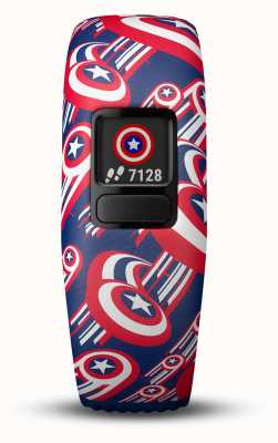 Garmin Vivofit jr2 capitaine america sangle reglable 010-01909-12