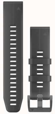 Garmin Bracelet caoutchouc noir quickfit 22mm fenix 5 / instinct 010-12740-00
