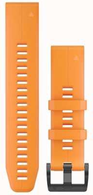 Garmin Bracelet caoutchouc orange quickfit 22mm fenix 5 / instinct 010-12740-04