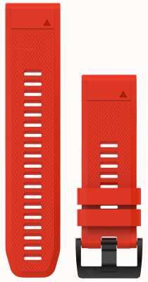 Garmin Caoutchouc rouge quickfit 26mm fenix 5x / tactix charlie 010-12517-02