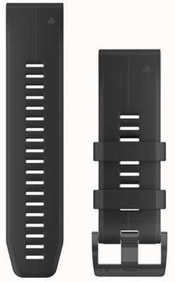 Garmin Bracelet caoutchouc noir quickfit 26mm fenix 5x / tactix charlie 010-12741-00
