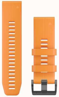 Garmin Bracelet caoutchouc orange quickfit 26mm fenix 5x / tactix charlie 010-12741-03