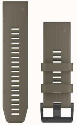 Garmin Bracelet en caoutchouc beige quickfit 26mm fenix 5x / tactix charlie 010-12741-04