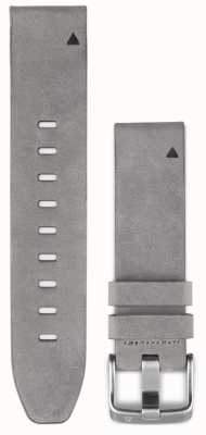 Garmin Bracelet en cuir suédé gris quickfit 20mm fenix 5s 010-12491-16