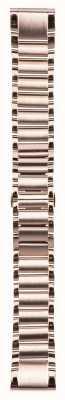 Garmin Bracelet en acier inoxydable ton or rose quickfit 20mm fenix 5s 010-12739-02