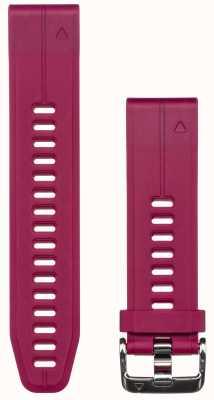 Garmin Bracelet caoutchouc violet quickfit 20mm fenix 5s 010-12739-05