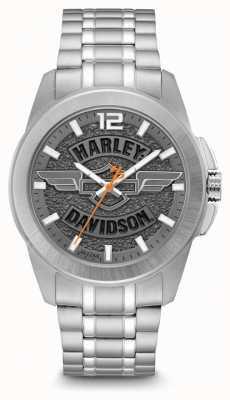 Harley Davidson Bracelet seul homme en acier inoxydable 76B180