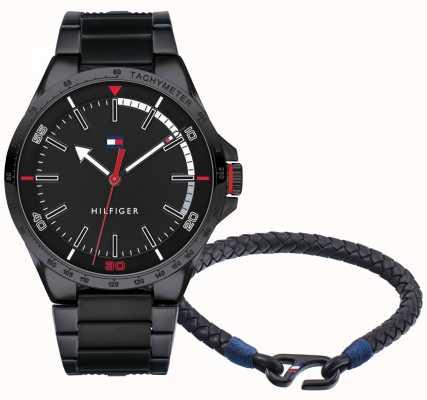 Tommy Hilfiger Coffret cadeau montre et bracelet homme 2770029