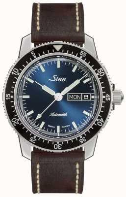 Sinn 104 st sa ib | bracelet en cuir marron foncé marron foncé 104.013-BL50202002007125401A