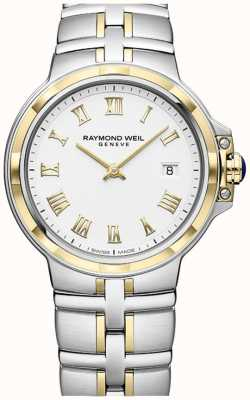 Raymond Weil Parsifal bicolore | or et acier inoxydable | montre mens 5580-STP-00308