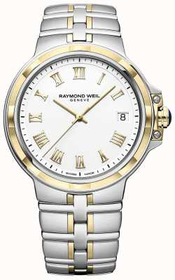 Raymond Weil Parsifal bicolore | or et acier inoxydable | montre homme 5580-STP-00308
