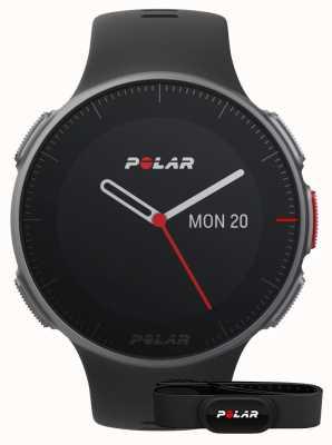 Polar Vantage v (avec sangle hr) entraînement multisport gps noir 90069634