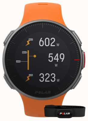 Polar Vantage v (avec sangle hr) sangle orange multisport gps 90069666