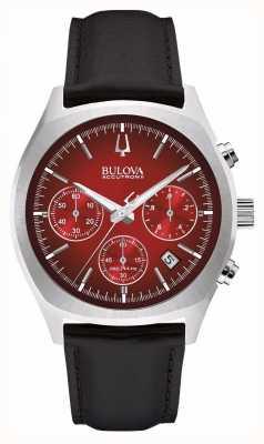Bulova Mens accutron ii chronographe rouge jour date 96B238