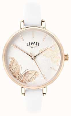 Limit | montre de jardin secret pour femmes | papillon blanc | 60013