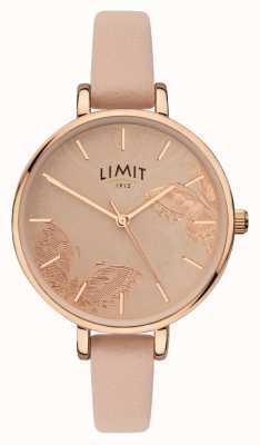 Limit | montre de jardin secret pour femmes | cadran papillon pêche | 60014