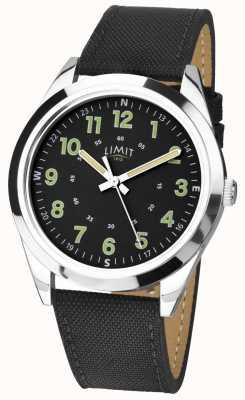 Limit | hommes | bracelet en cuir noir | 5950.01