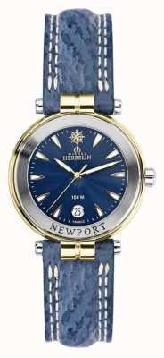 Michel Herbelin Bracelet femme newport bleu doré 14255/T35