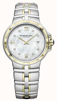 Raymond Weil Parsifal femmes | cadran diamant | deux tons 5180-STP-00995