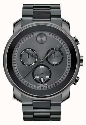 Movado | montre chronographe audacieuse mens | acier gris acier | 3600486