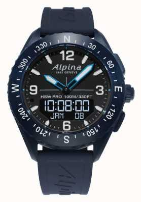 Alpina | hommes alpinerx | smartwatch | AL-283LBN5NAQ6