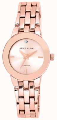 Anne Klein | montre femme agnes | bracelet en or rose | AK-N1930RGRG