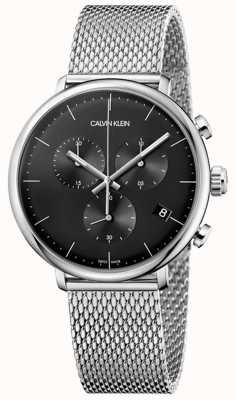 Calvin Klein | mens haut midi en acier inoxydable | chronographe | K8M27121
