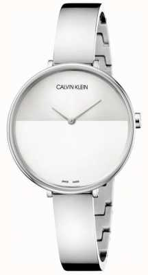 Calvin Klein | montée des femmes | bracelet en acier inoxydable | cadran deux tons | K7A23146