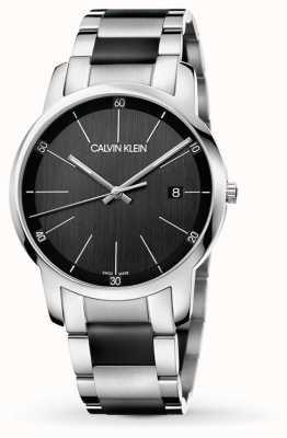 Calvin Klein | Mens City | bracelet en acier inoxydable deux tons | K2G2G1B1