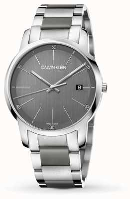 Calvin Klein | montre mens city extension | acier inoxydable deux tons | K2G2G1P4