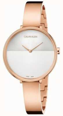 Calvin Klein | extension pour femmes | bracelet en or rose | cadran deux tons K7A23646