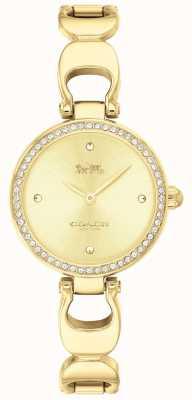 Coach | montre de parc pour femmes | bracelet en or visage doré | 14503171