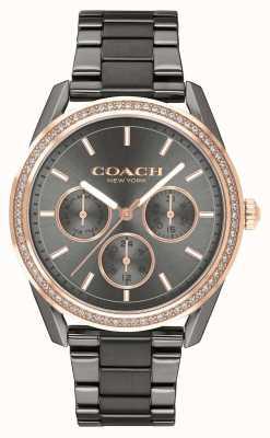 Coach | montre preston | montre chronographe en acier inoxydable | 14503214