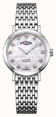 Rotary | montre femme en nacre | LB05300/07/D