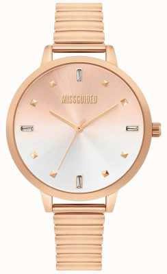 Missguided | montre femme en or rose | MG012RGM