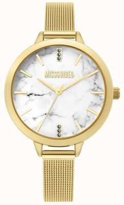 Missguided | montre femme en maille d'or | MG011GM