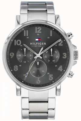 Tommy Hilfiger Daniel | bracelet en acier inoxydable | | cadran gris 1710382