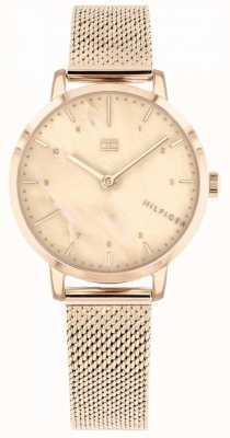 Tommy Hilfiger | montre de lys rose doré pour femme | 1782042