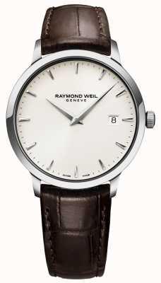 Raymond Weil | montre homme toccata en cuir marron | 5488-STC-40001
