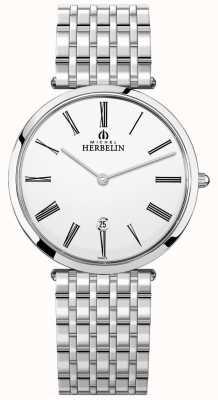 Michel Herbelin | hommes | epsilon | bracelet extra plat en acier inoxydable | 19416/B01N