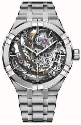 Maurice Lacroix Bracelet en acier inoxydable squelette Aikon Manufacture AI6028-SS002-030-1