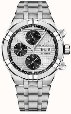 Maurice Lacroix Bracelet acier chronographe automatique Aikon AI6038-SS002-132-1
