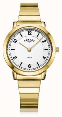Rotary | bracelet dames plaqué or | LB00766/18