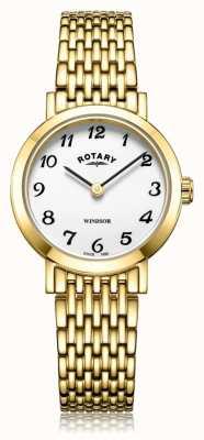 Rotary | bracelet dames plaqué or | LB05303/18