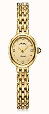 Rotary | bracelet dames plaqué or | LB05151/03/D