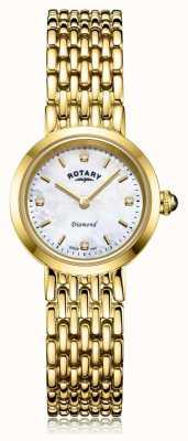 Rotary | bracelet dames en or | cadran en nacre LB00900/41/D