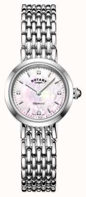 Rotary | bracelet en acier inoxydable dames | LB00899/07/D